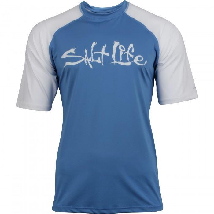 Salt life men 39 s tides t shirt ebay for Salt life long sleeve fishing shirts
