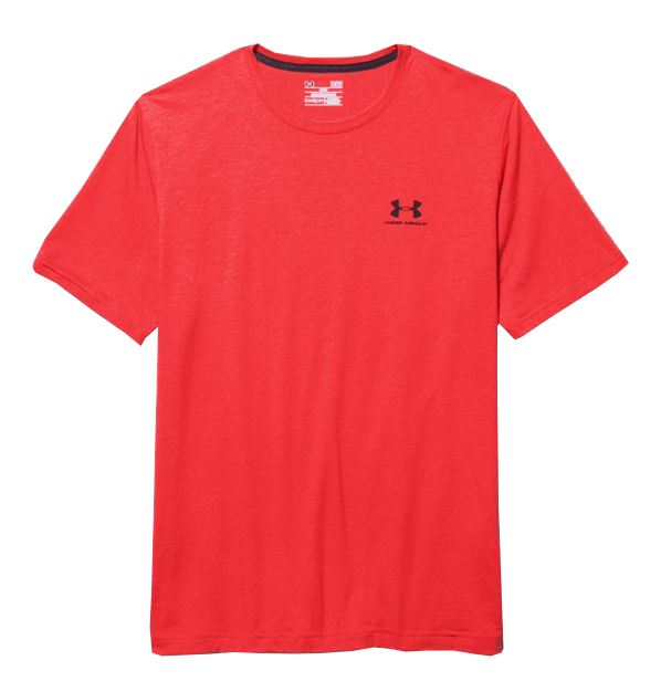 Under armour men 39 s charged cotton sportstyle t shirt ebay for Under armour charged cotton shirts mens