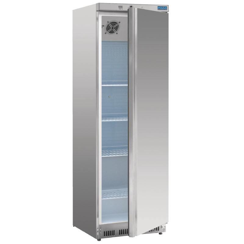 polar single door fridge 400l stainless steel commercial. Black Bedroom Furniture Sets. Home Design Ideas