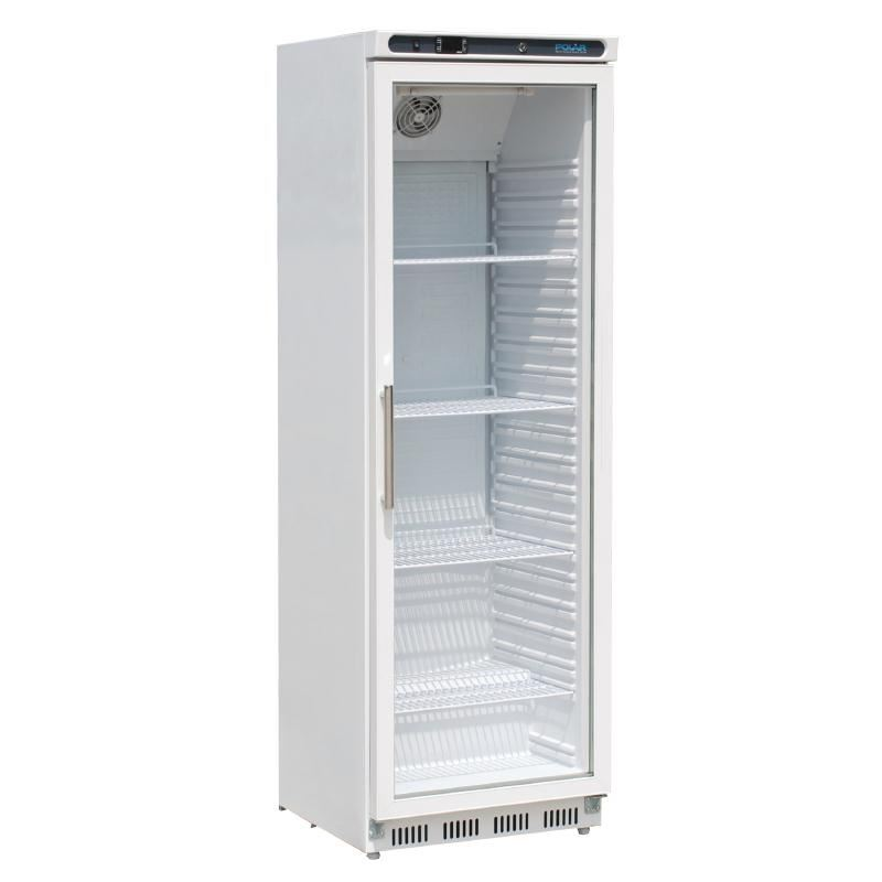 Polar Glass Door Refrigerator 400l Display Fridge Cold Bar Commercial Kitchen Ebay