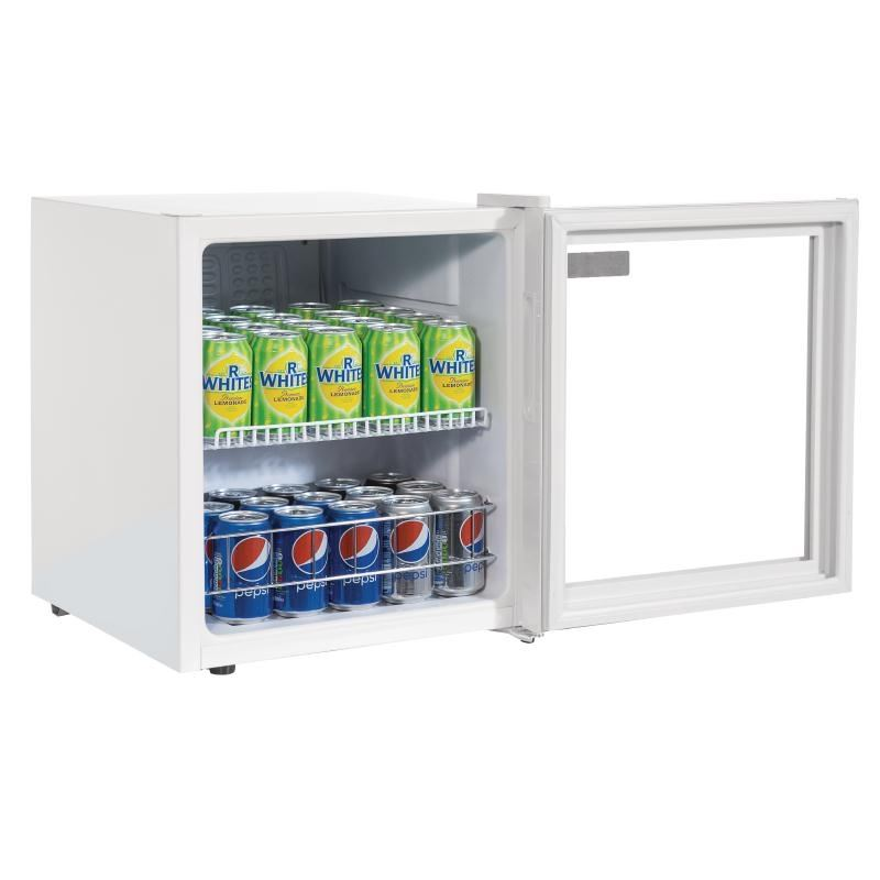 Polar Counter Top Display Fridge 46 Litre 510X430X480mm ...