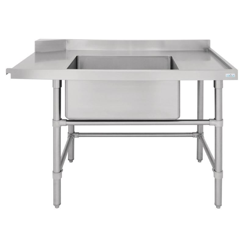 Stainless Sink Table : ... Inlet Table with Sink 1200x700x960mm Stainless Steel Kitchen eBay