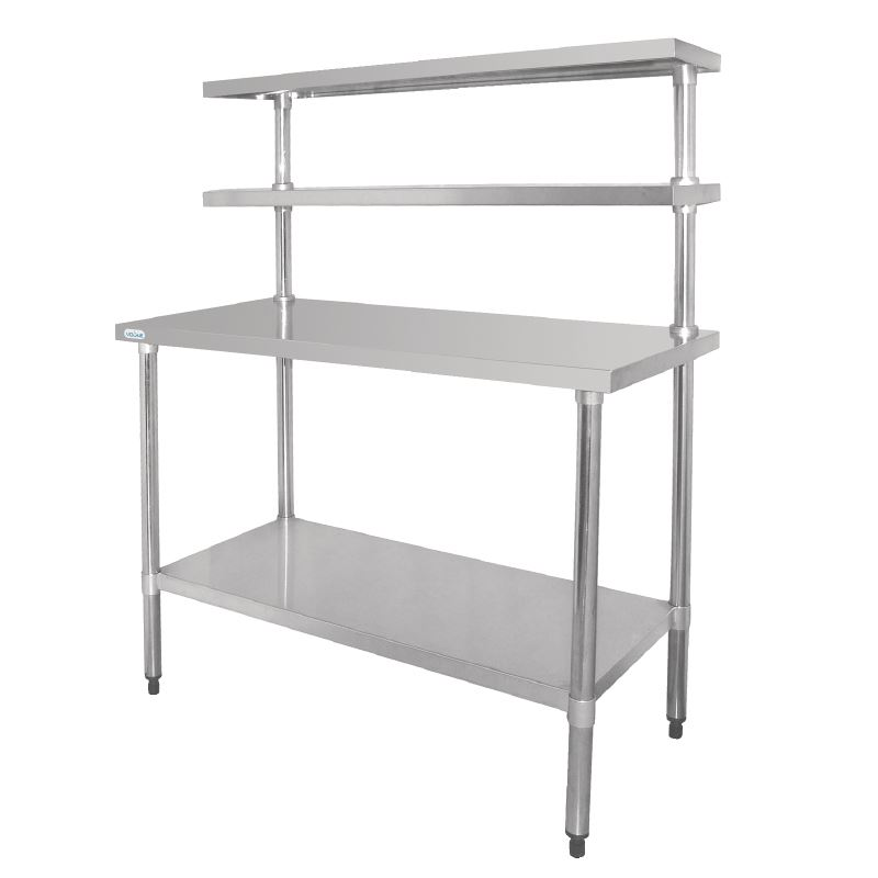 Vogue Stainless Steel Table Shelves Bench Kitchen Furniture Restaurant