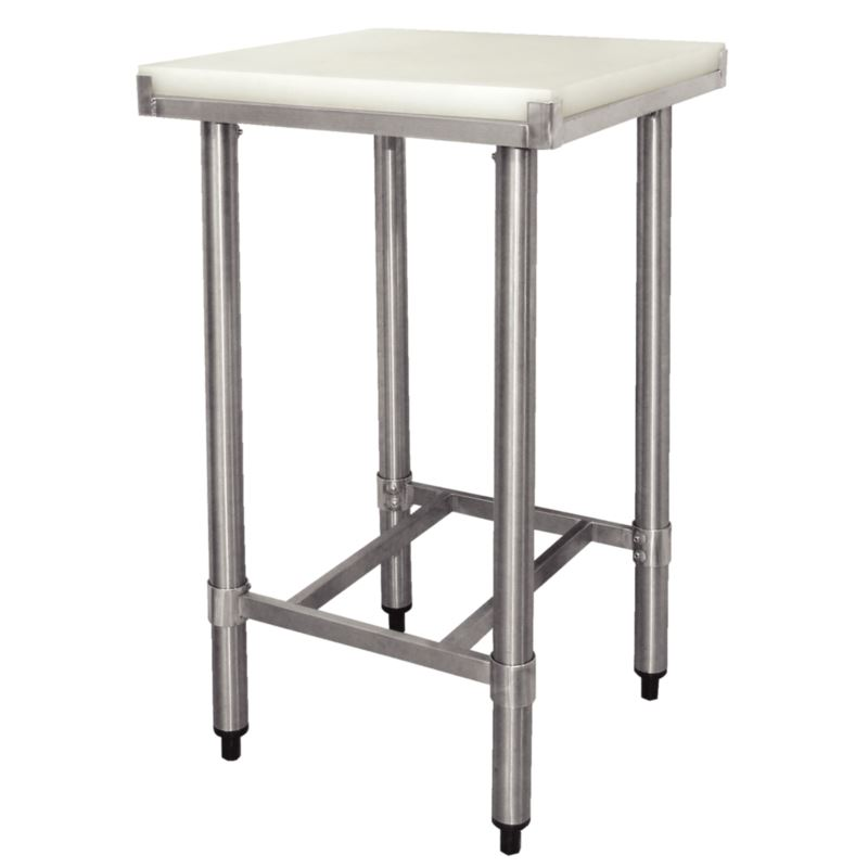 Vogue Cutting Board Table Stainless Steel Bench Chopping Kitchen Furniture Ebay