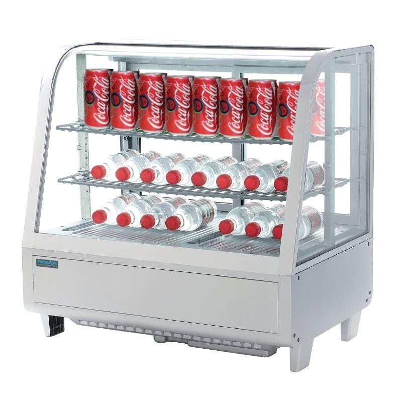 Polar Countertop Ice Maker : Polar Countertop Refrigerated Display White 100 Litre Commercial ...