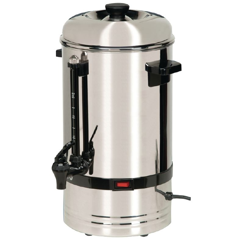 Coffee Maker Stainless Steel Pot : Buffalo Coffee Percolator 530X360X280mm Stainless Steel Cup Pot Maker Restaurant eBay