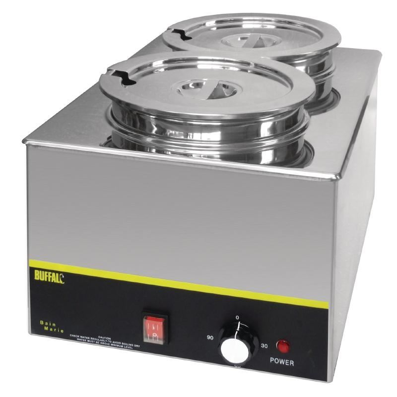 Food Warmers For Catering ~ Buffalo bain marie with round pots buffet catering food