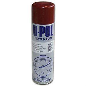 U Pol Power Paint Spray Cans Paints Primers Grey Black White Red Matt Gloss Ebay