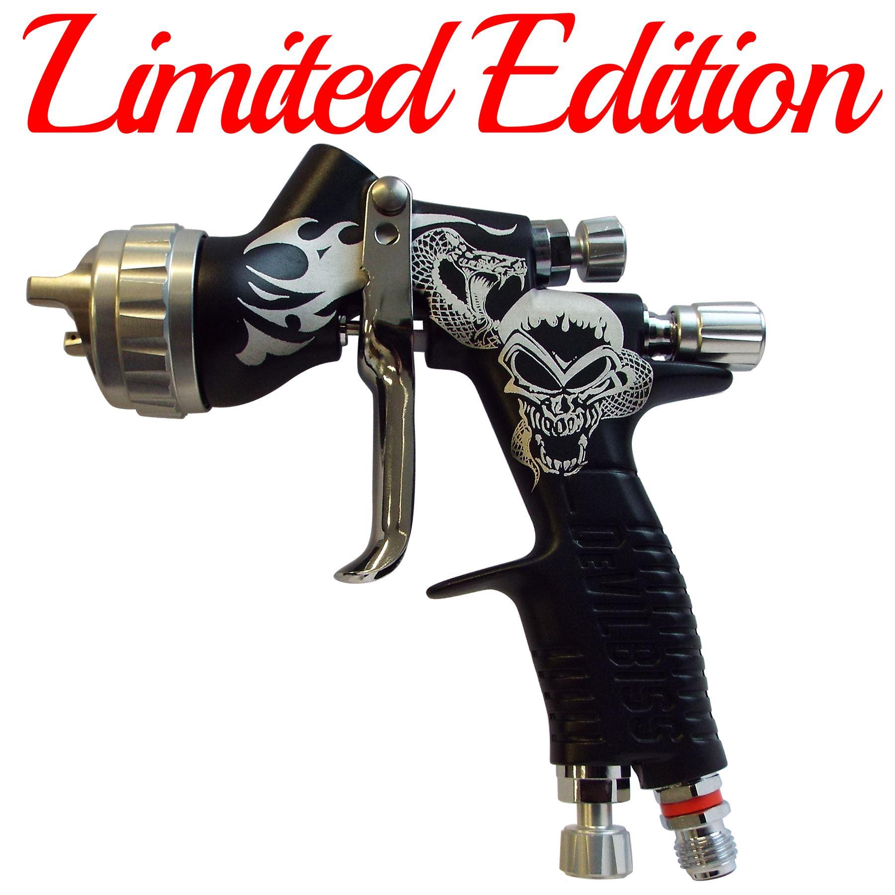 Devilbiss Gti Pro Lite Spray Paint Gun Limited Matt Black