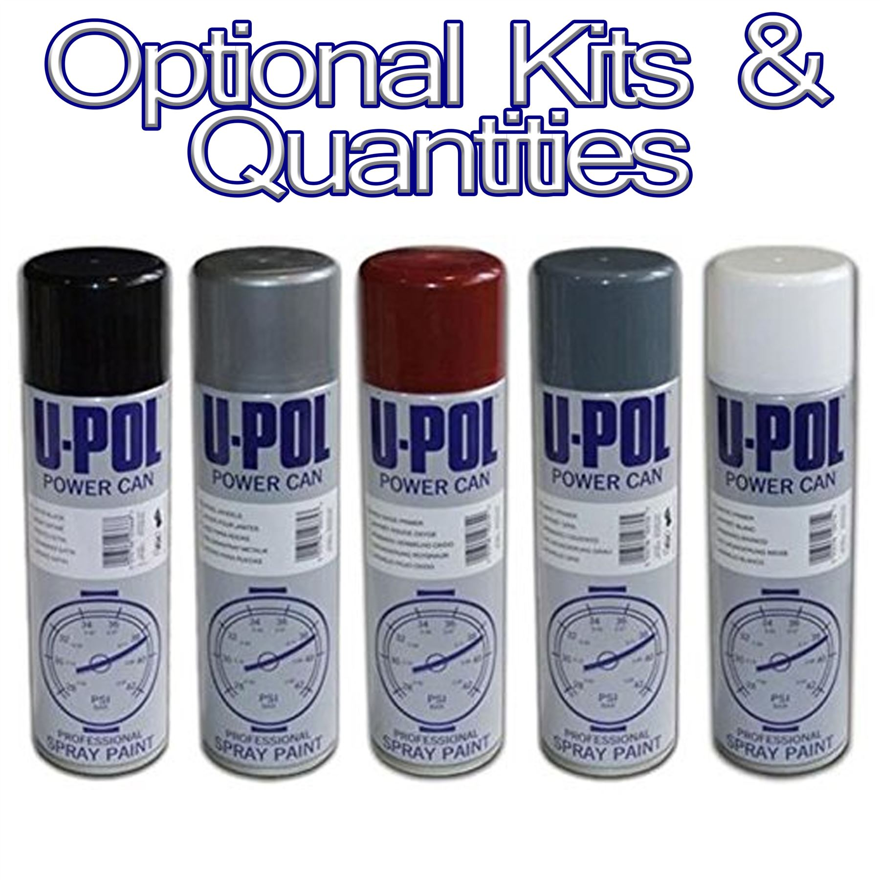 U Pol Power Paint Spray Cans Paints Primers Grey Black White Red Matt Gloss Ebay