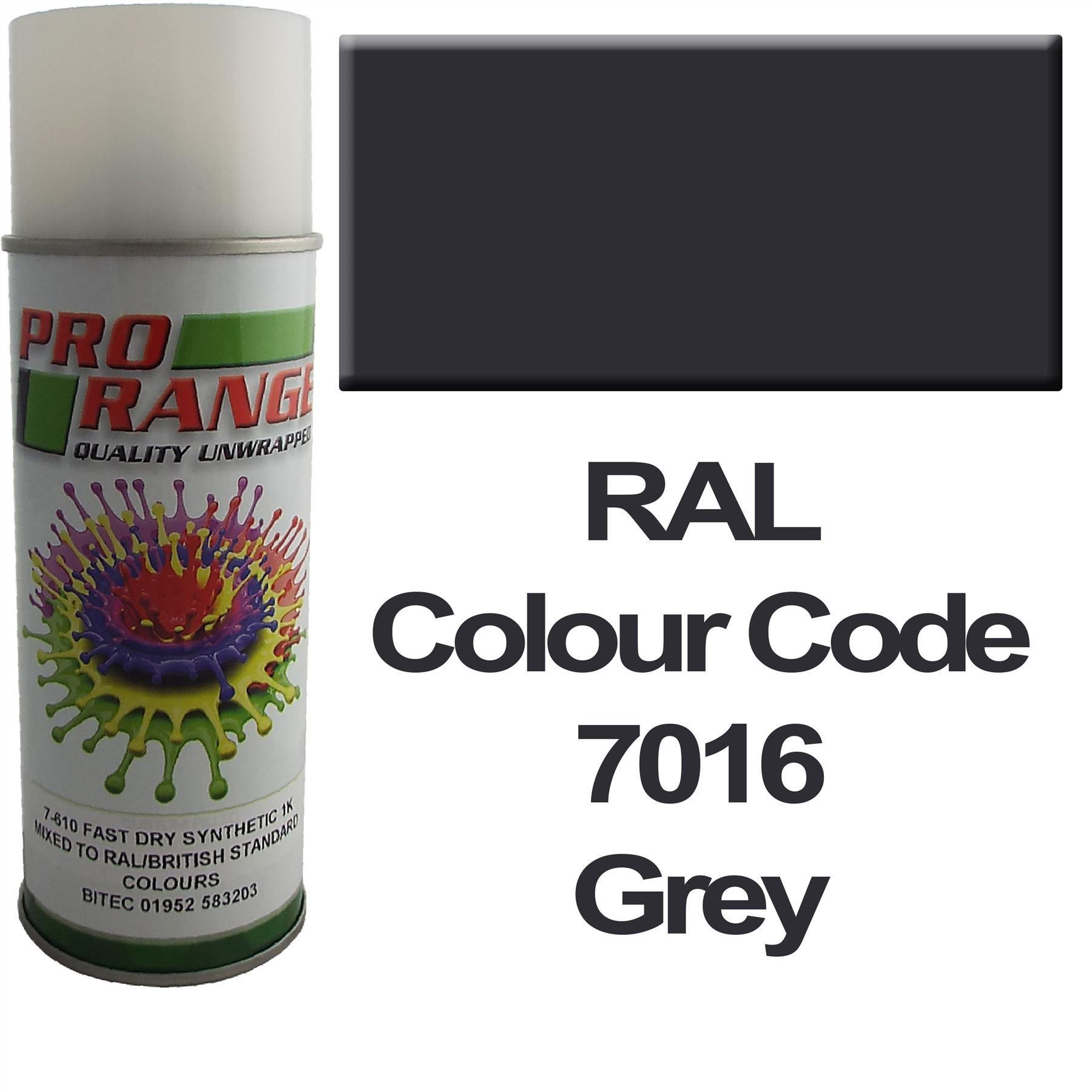 Matt Spray Paint British Standard/RAL Colours Aerosol High Quality 400ml Can