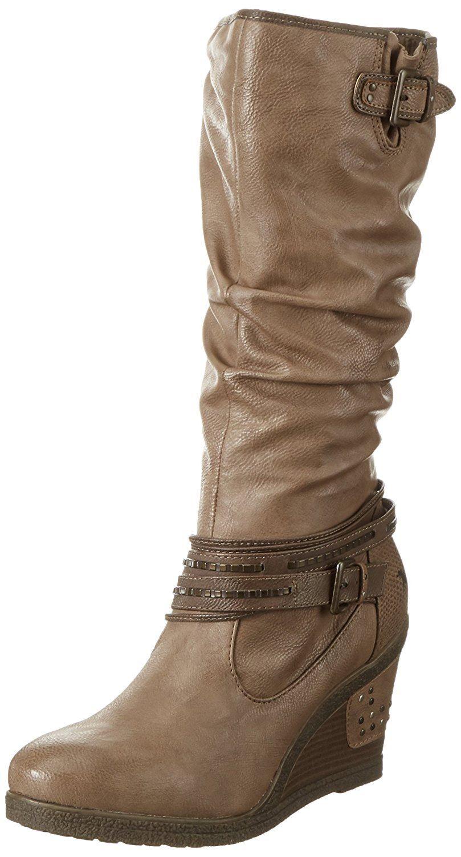 Mustang-Ladies-1083-509-33-Natural-Light-Brown-Mid-Calf-Boots
