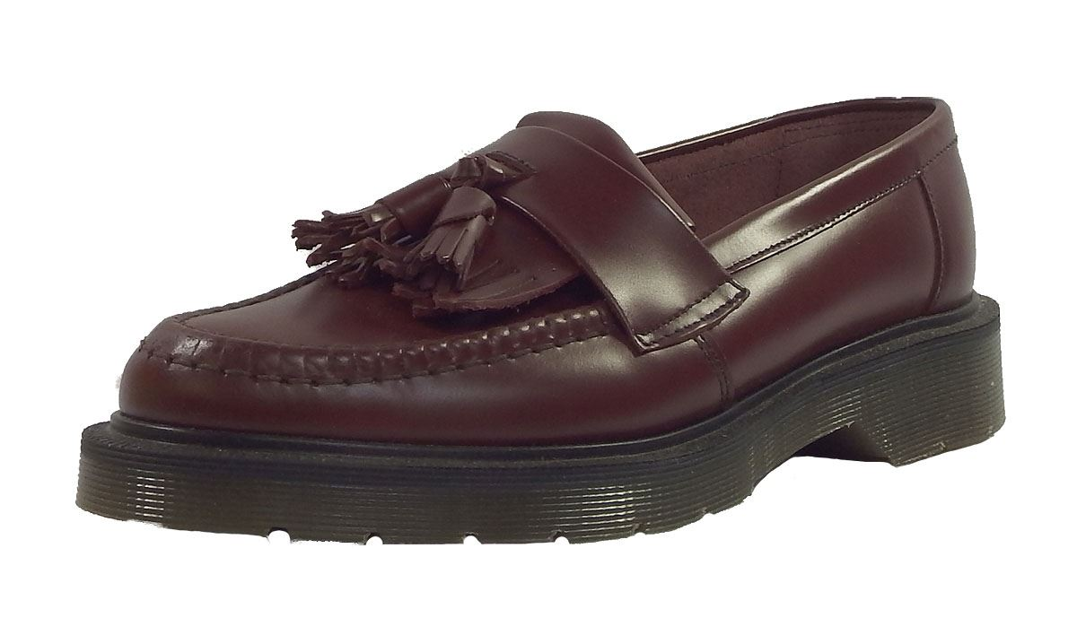 Ska Cuir Hommes Solovair En Mocassins Rouge In England Lisse Oxblood Made Pour Skinhead Pampilles xqwqYHPv