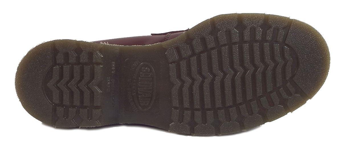 Solovair Made In England Mens Oxblood Smooth Leder Tassle Loafers Ska Skinhead