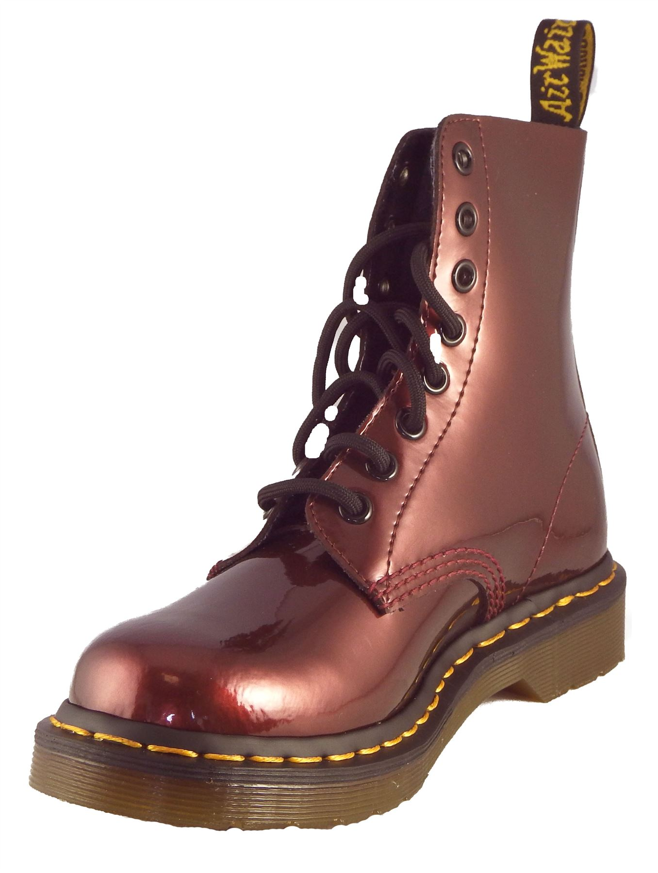 dr martens womens 1460 cherry red spectra patent leather. Black Bedroom Furniture Sets. Home Design Ideas