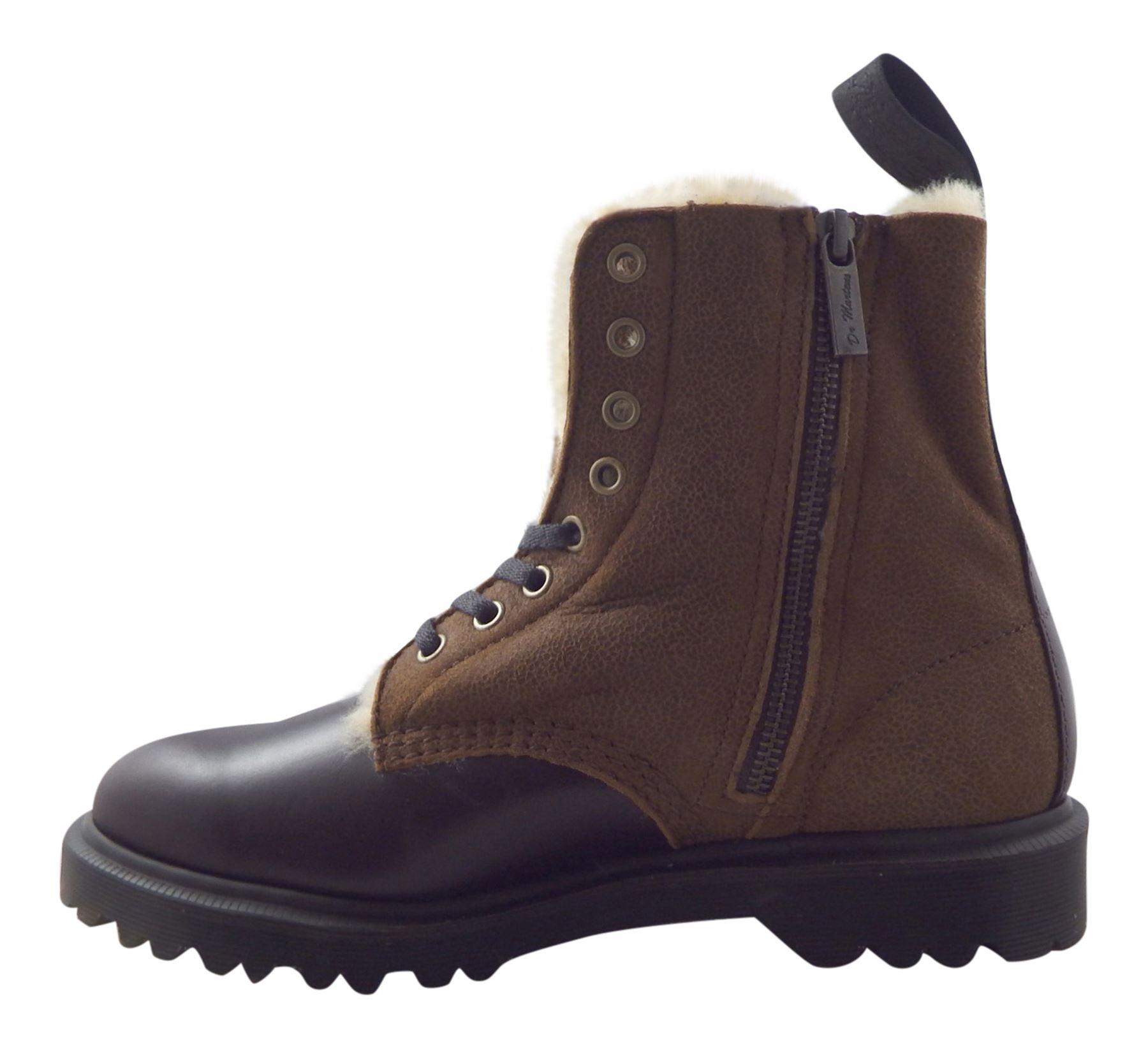 brown leather sheepskin boots santa barbara institute
