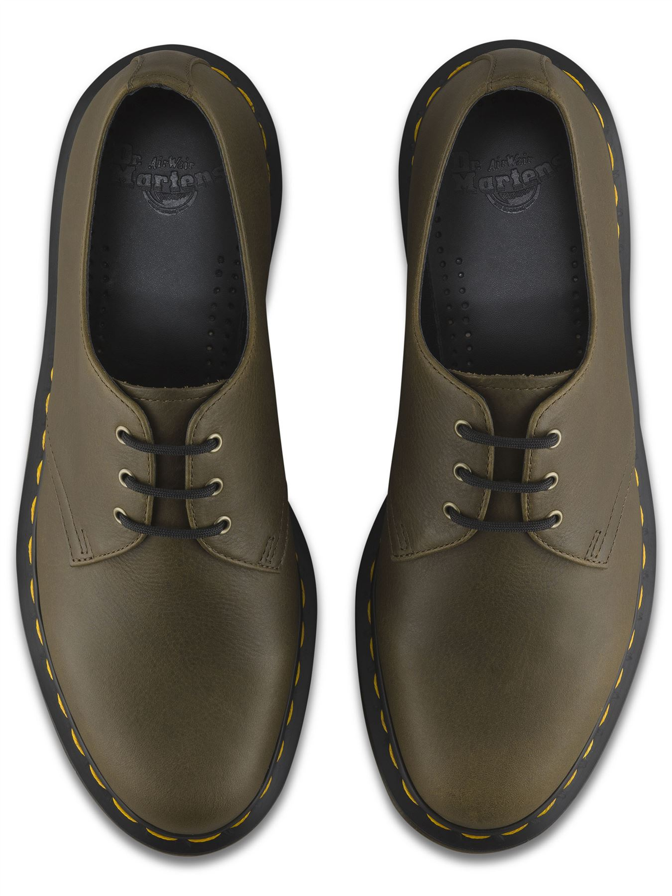 dr martens mens 1461 3 eye carpathian premium leather