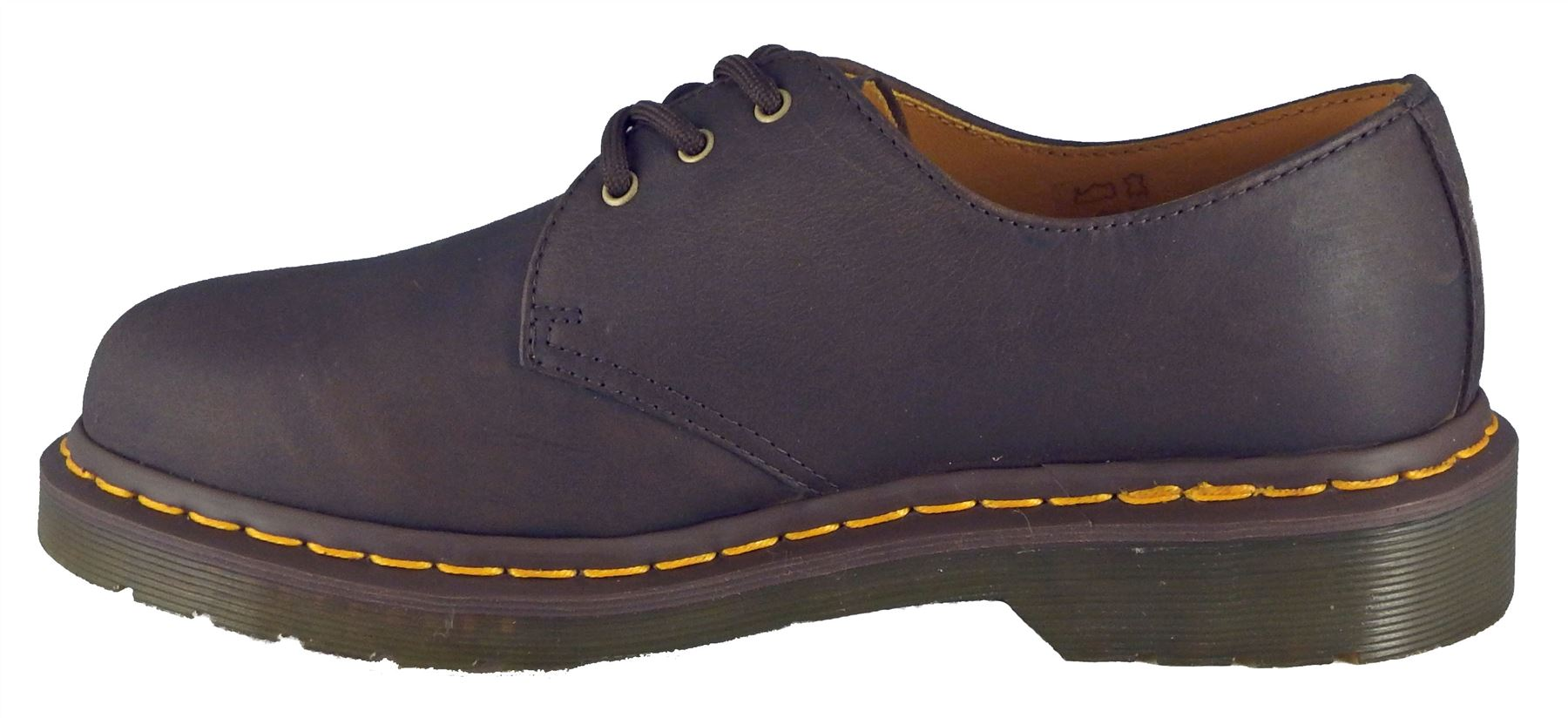 dr martens 1461 unisex classic 3 up smooth leather doc