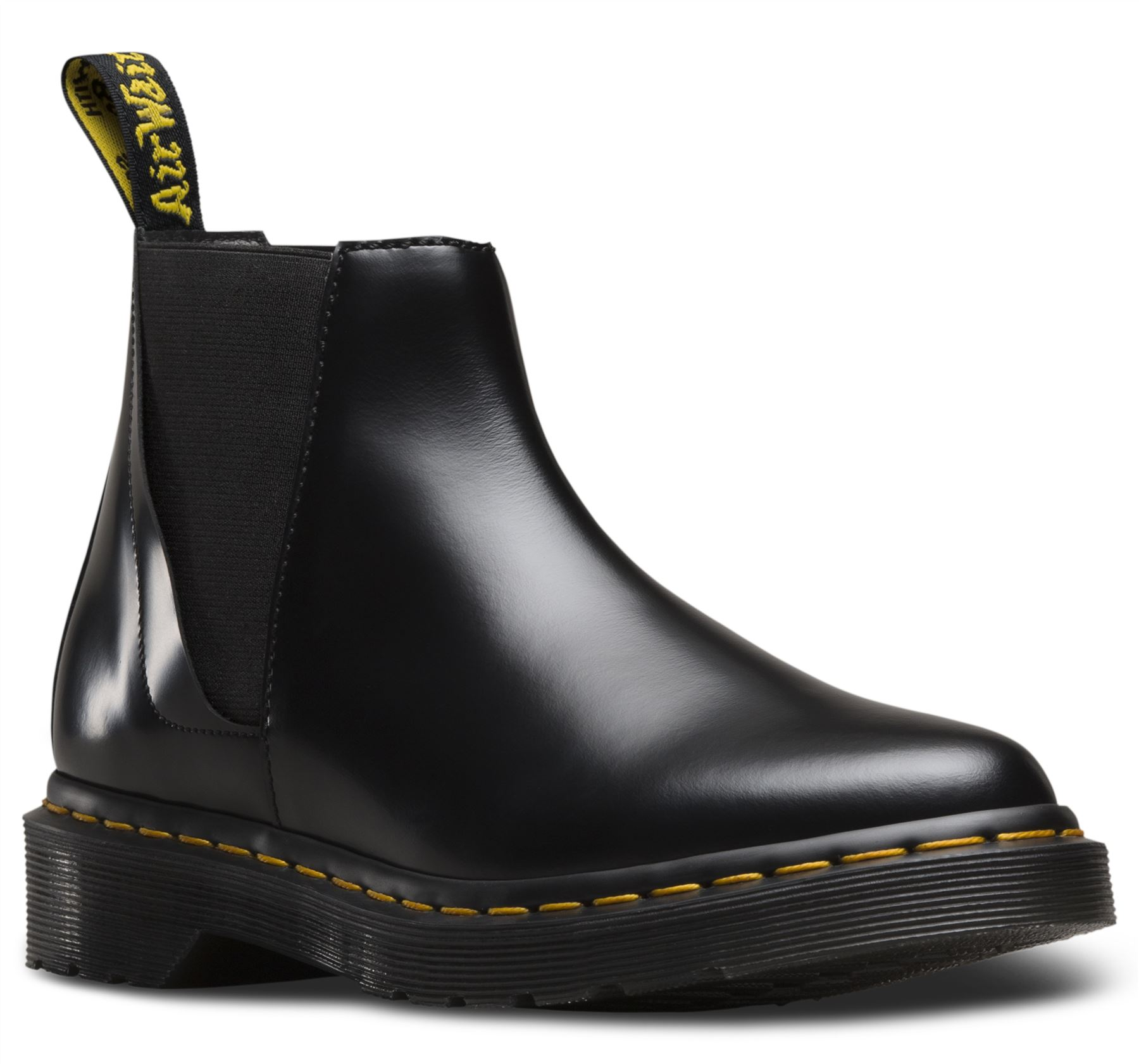 dr martens ladies bianca low shaft zip premium leather chelsea boots ebay. Black Bedroom Furniture Sets. Home Design Ideas