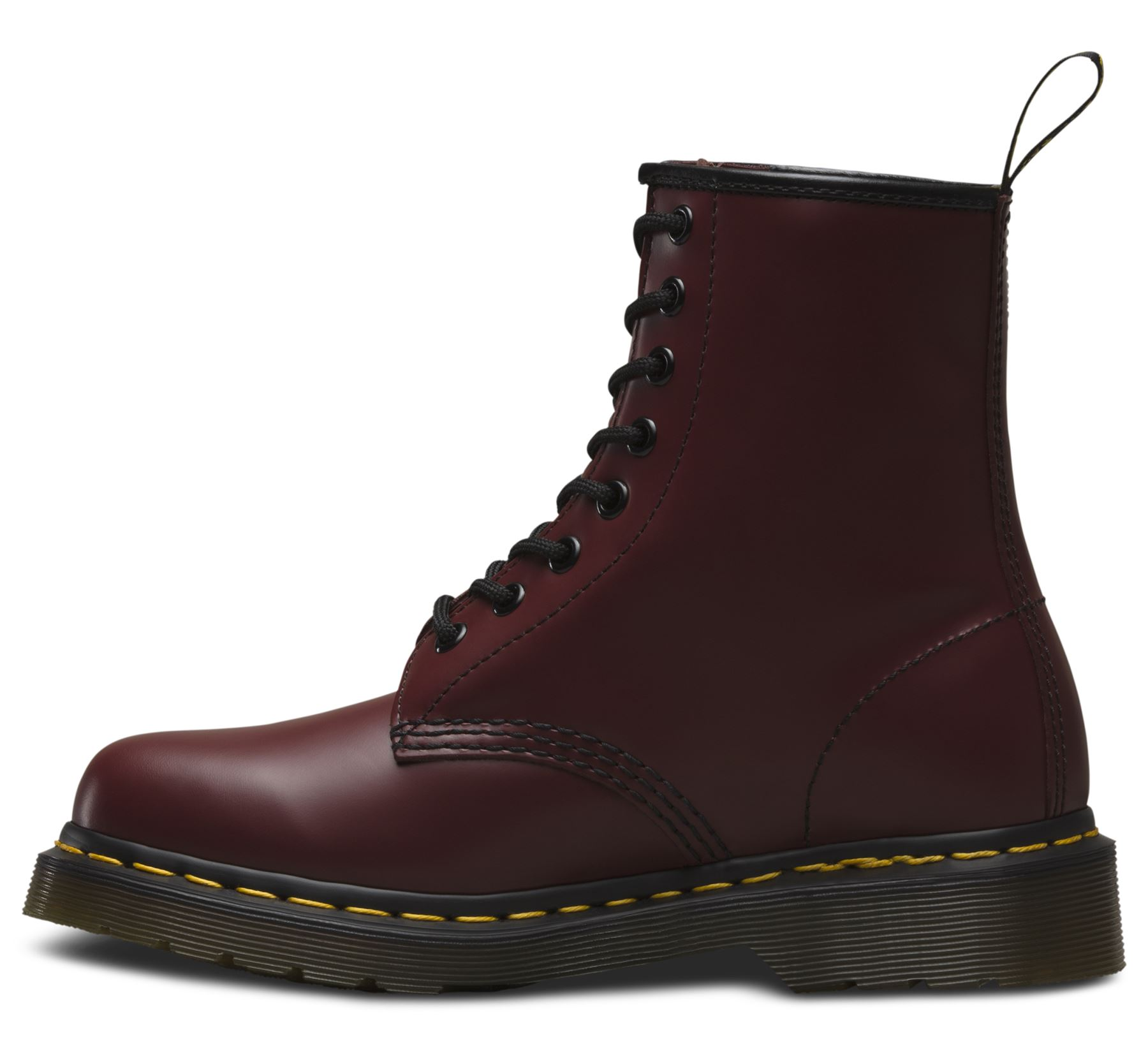 dr martens unisex 1460 cherry red classic smooth leather 8. Black Bedroom Furniture Sets. Home Design Ideas
