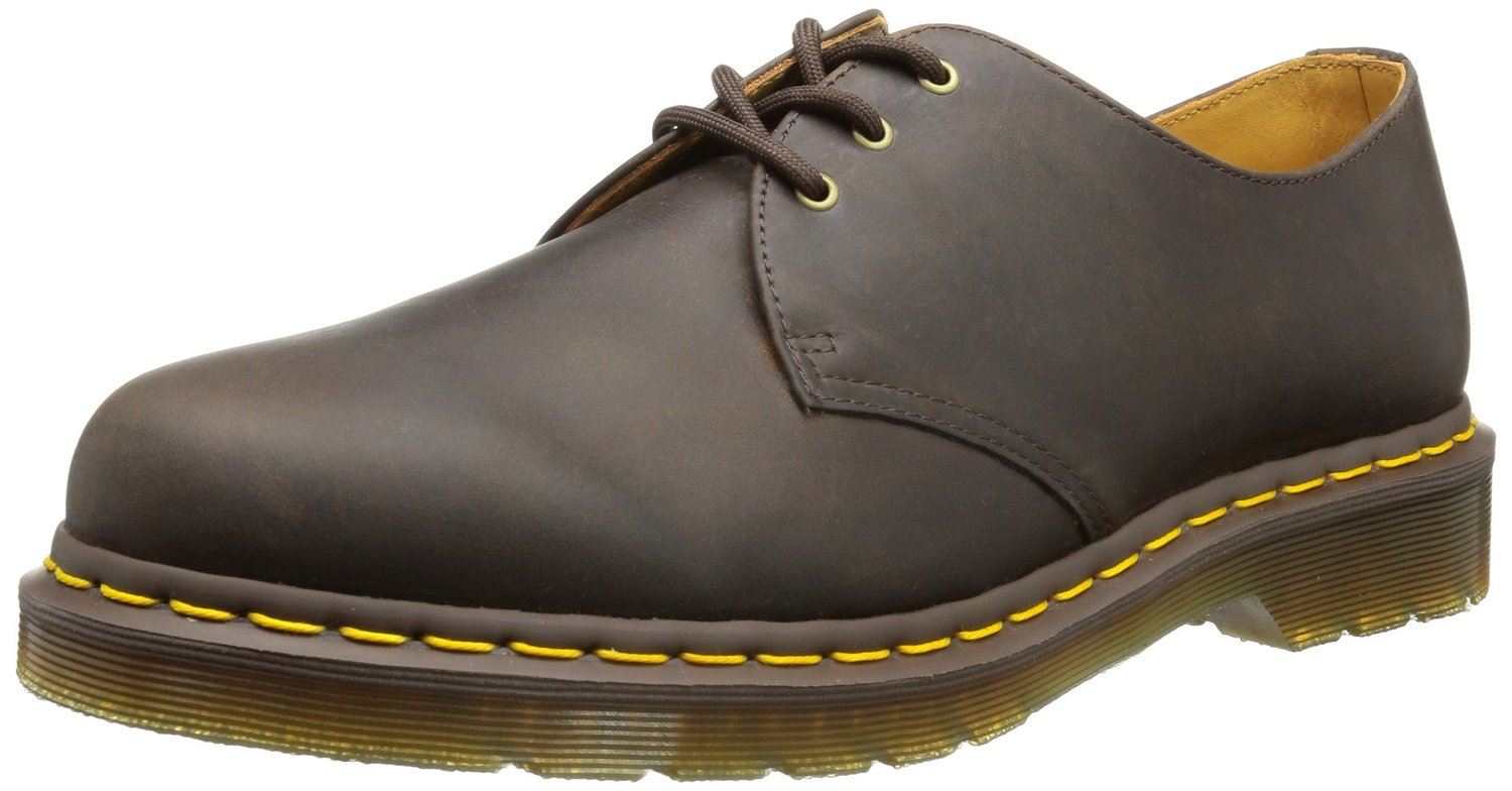 dr martens 1461 unisex classic 3 up smooth leather doc. Black Bedroom Furniture Sets. Home Design Ideas