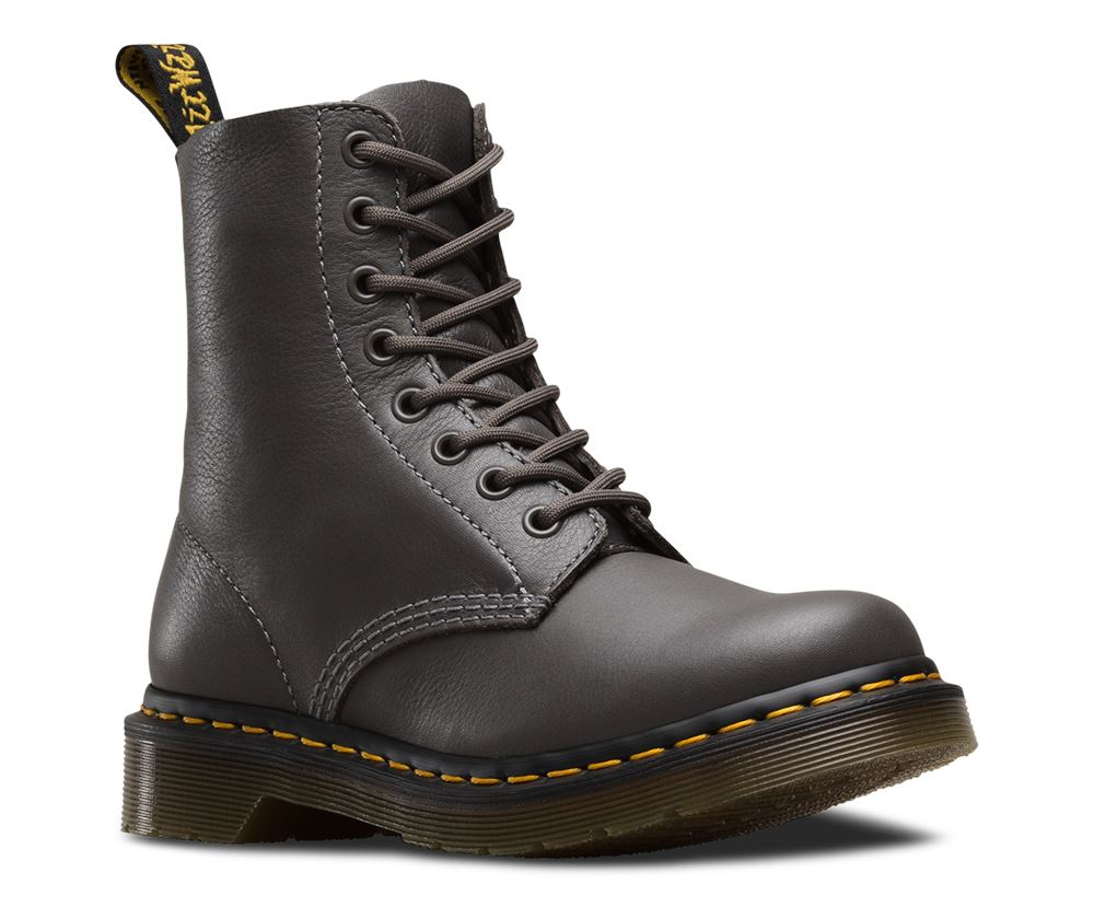 dr martens ladies pascal virginia soft nappa leather 8 eye 1460 ankle boots ebay. Black Bedroom Furniture Sets. Home Design Ideas