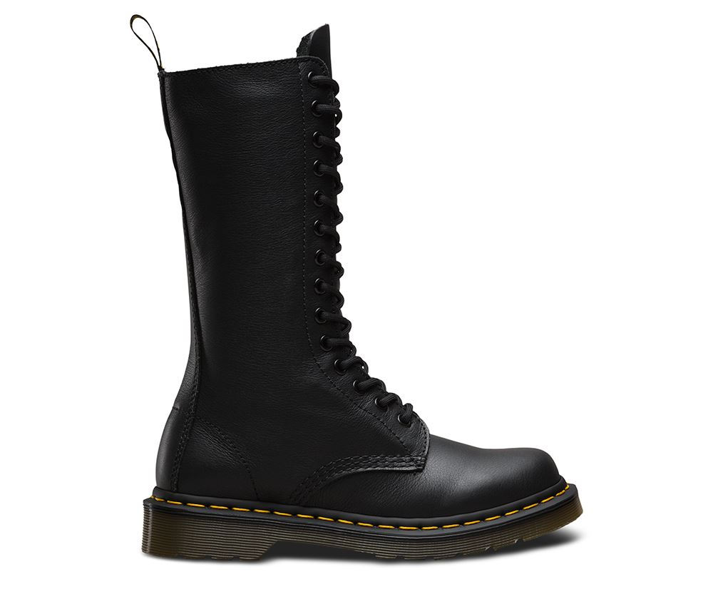 doc dr martens ladies 1b99 soft virginia nappa 14 up leather tall boots ebay. Black Bedroom Furniture Sets. Home Design Ideas