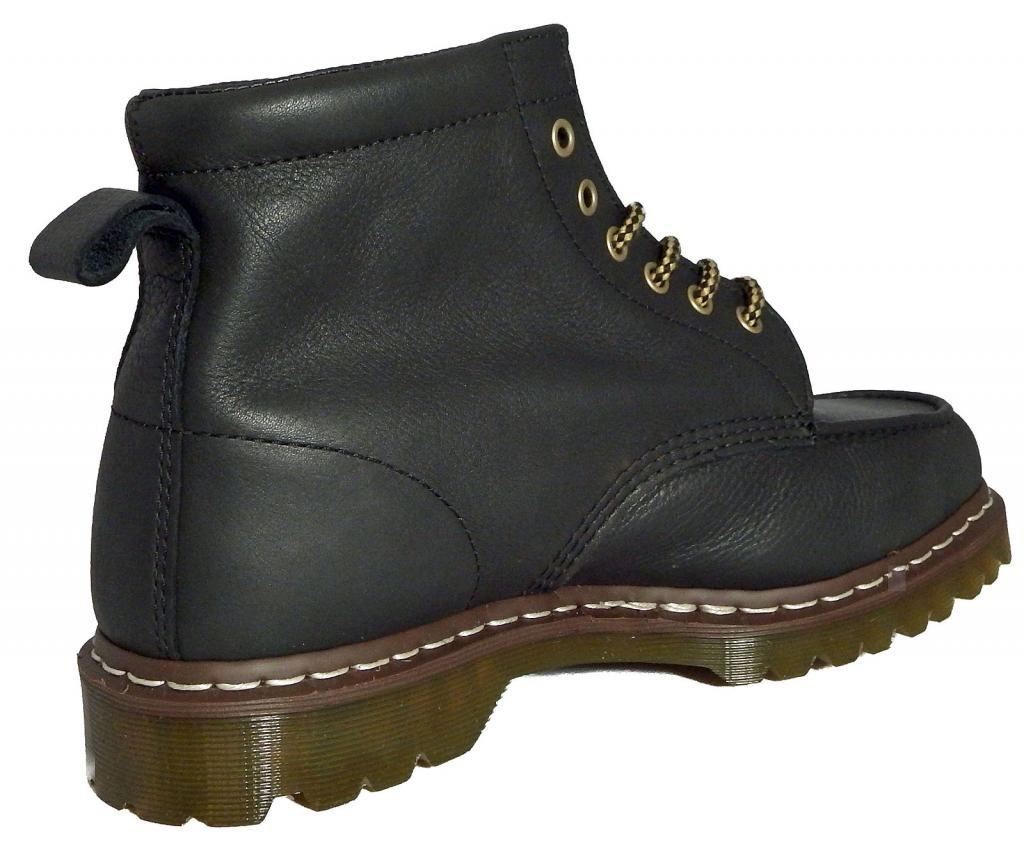 dr doc martens unisex damian geronimo black leather ankle boots 14956002 ebay. Black Bedroom Furniture Sets. Home Design Ideas