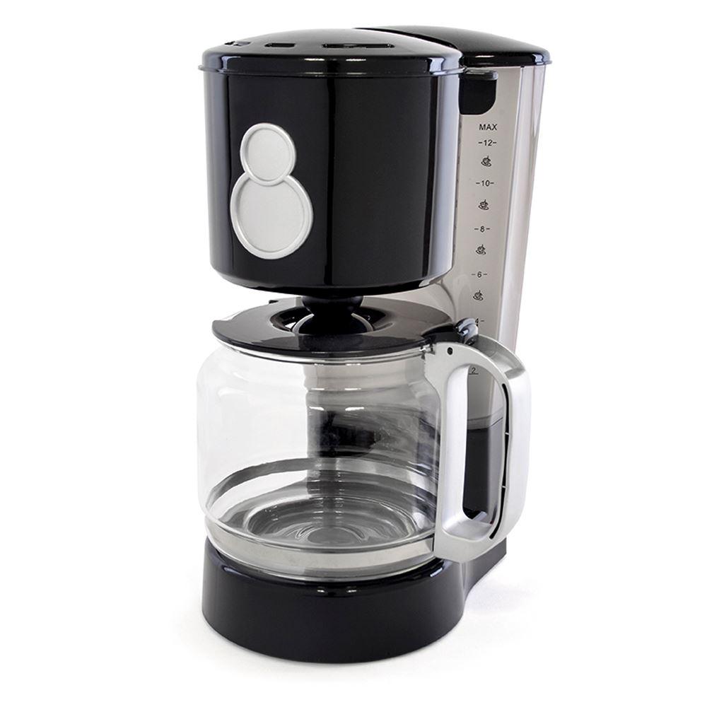 Non Glass Coffee Maker : Lloytron E1712BK Black Kitchenperfected 12 CUP 800W Coffee Maker Machine NEW eBay