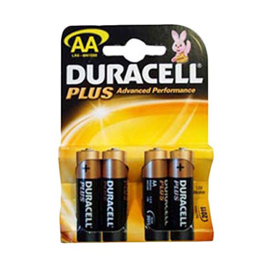 Duracell MN1500PLUS-B4 Alkaline Plus Power AA Size General Purpose Battery New