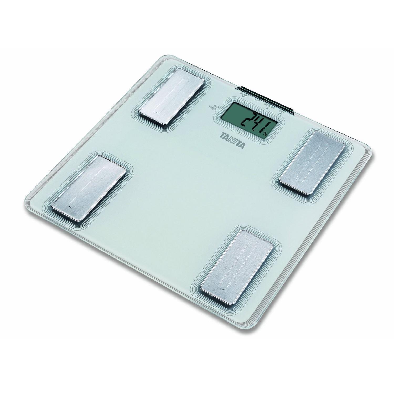 Escala de grasa corporal digital Tanita