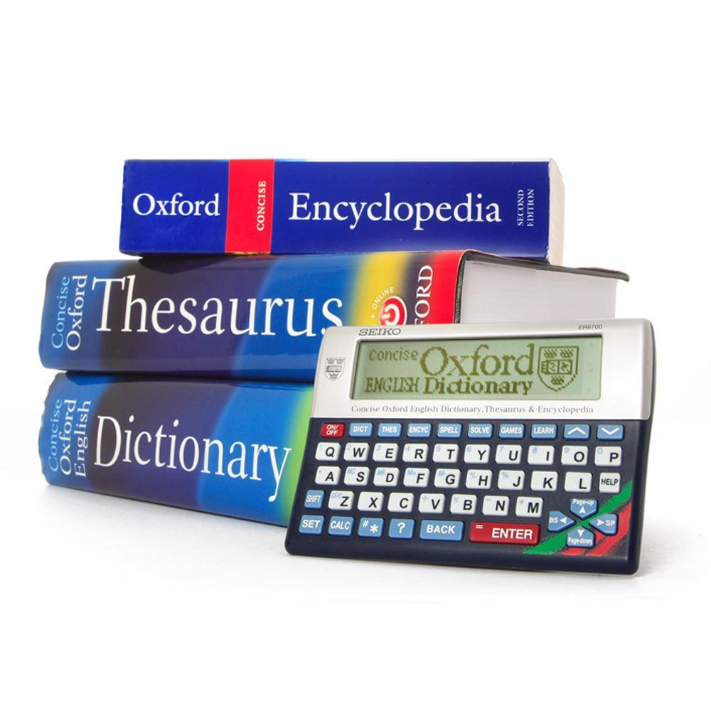 Seiko ER6700 Electronic Concise Oxford Dictionary ...