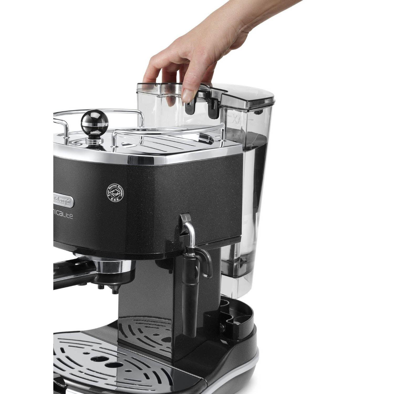 how to clean espresso machine filter