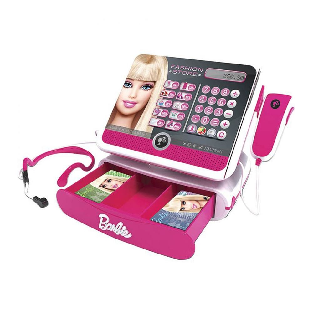 Barbie BBCR2 Kids Girls Fashion Store Cash Register ...