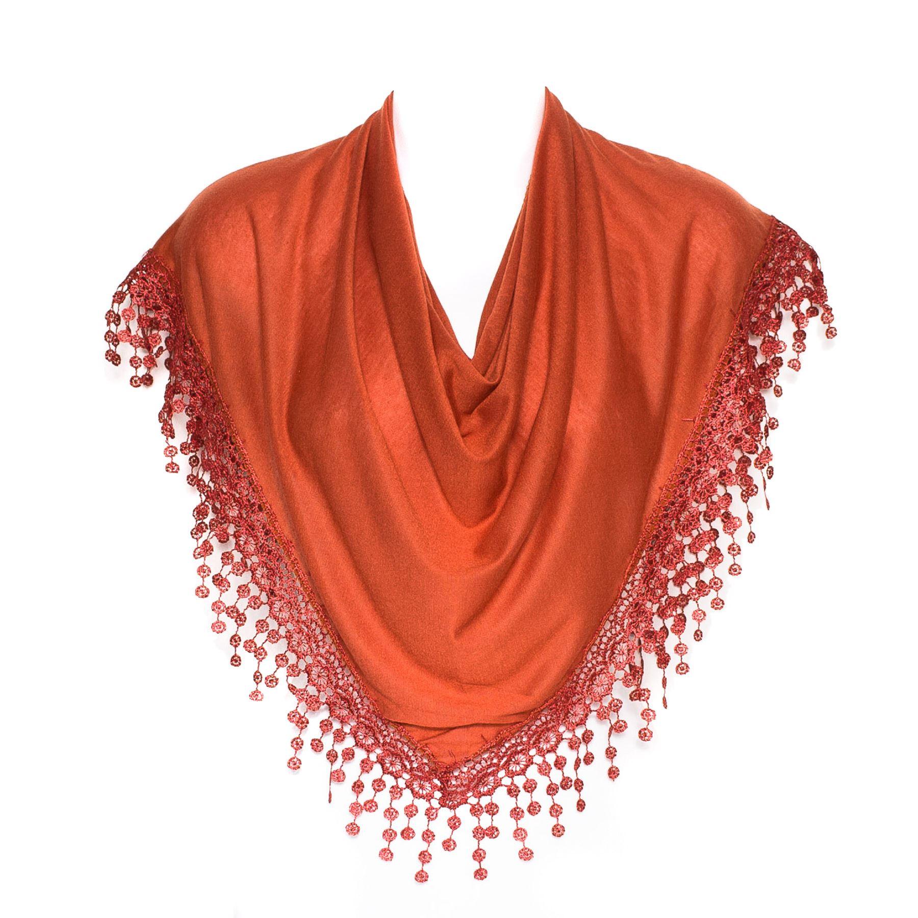 Plain women lady chandelier lace fringed shawl stole wrap scarf plain women lady chandelier lace fringed shawl stole arubaitofo Choice Image