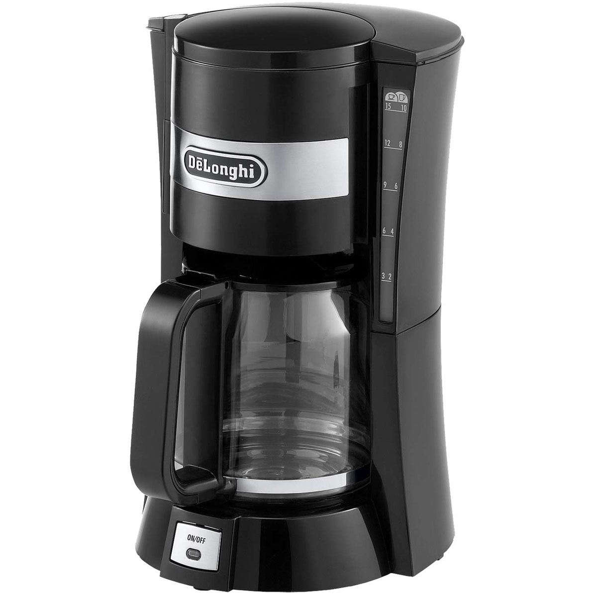 Delonghi One Cup Coffee Maker : Delonghi ICM15210 Black 10 Cup 1.3L 900W Filter Coffee Maker Machine New 8004399327023 eBay