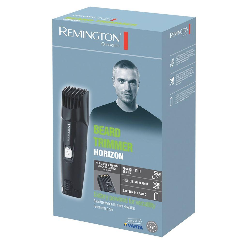 remington mb4010 battery operated men beard trimmer shaver new ebay. Black Bedroom Furniture Sets. Home Design Ideas