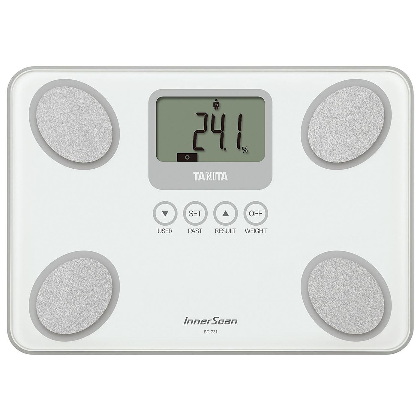 Tanita Digital Bathroom Scales: Tanita BC731 White InnerScan Body Composition Monitor