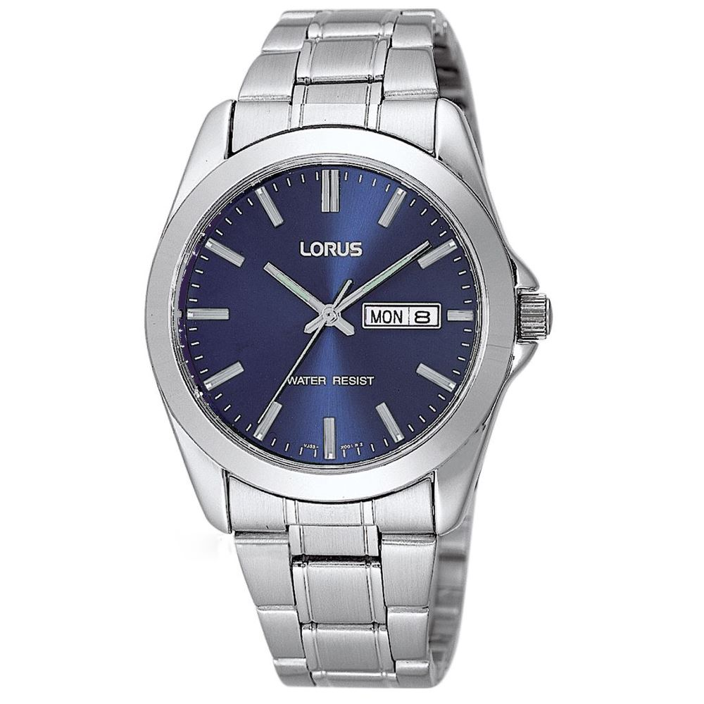 Lorus-RJ603AX9-Silver-Mens-Gents-Classic-Dress-Bracelet-Analogue-Watch-New