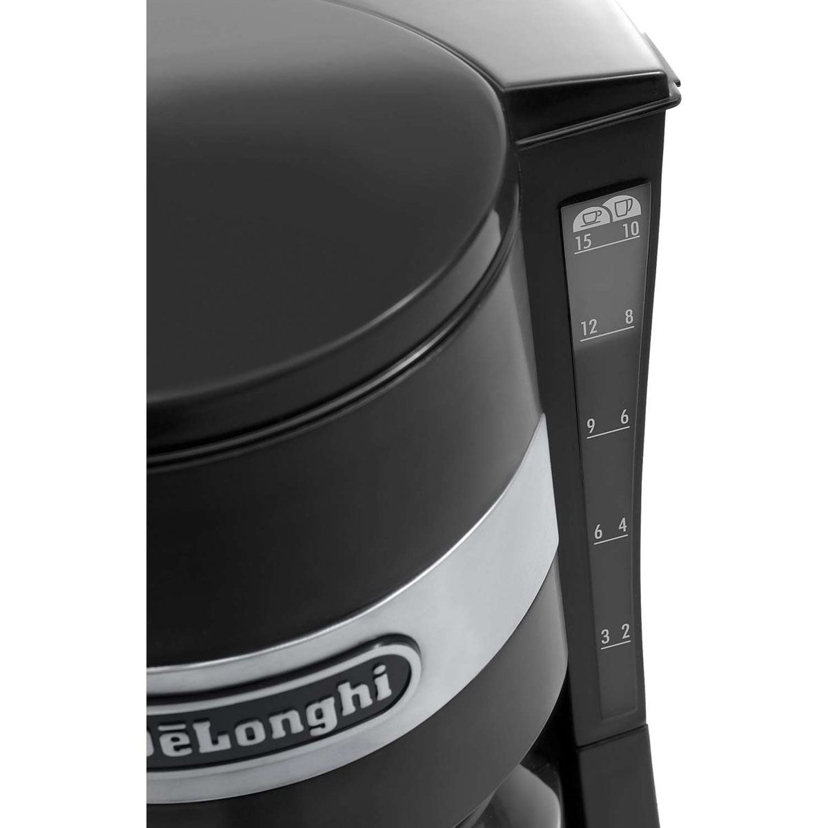 Delonghi ICM15210 Black 10 Cup 1.3L 900W Filter Coffee Maker Machine New 8004399327023 eBay