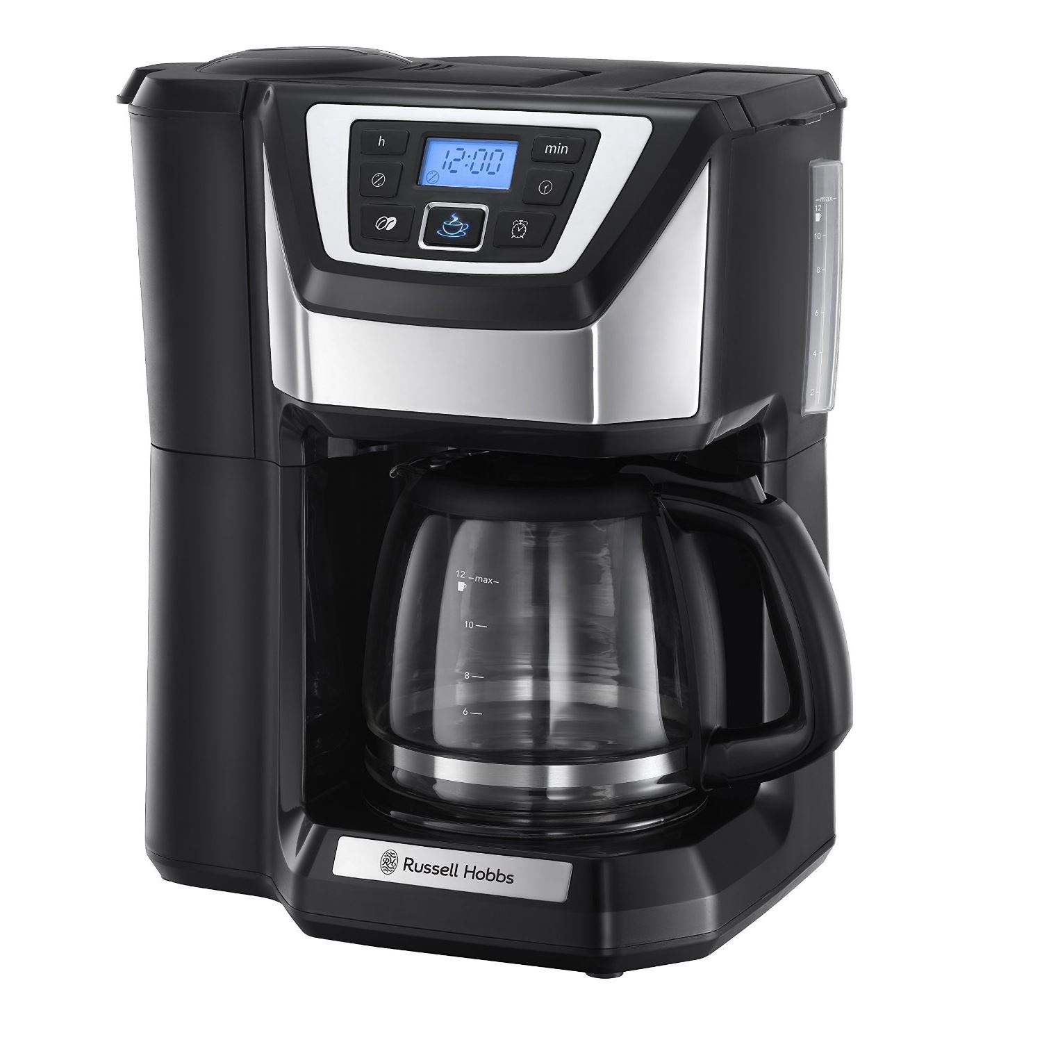 Coffee Maker Quietest : Russell Hobbs 22000 Grind & Brew 12 Cup Filter Chester Coffee Maker Machine New eBay
