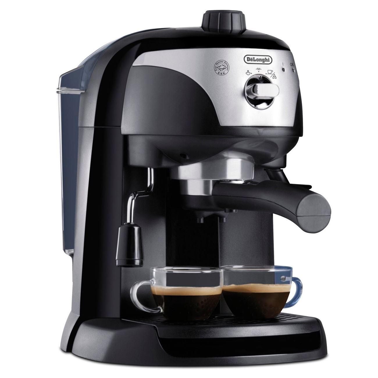 Delonghi ecc220 black motivo pump espresso cappuccino coffee machine maker ne - Machine cafe delonghi ...