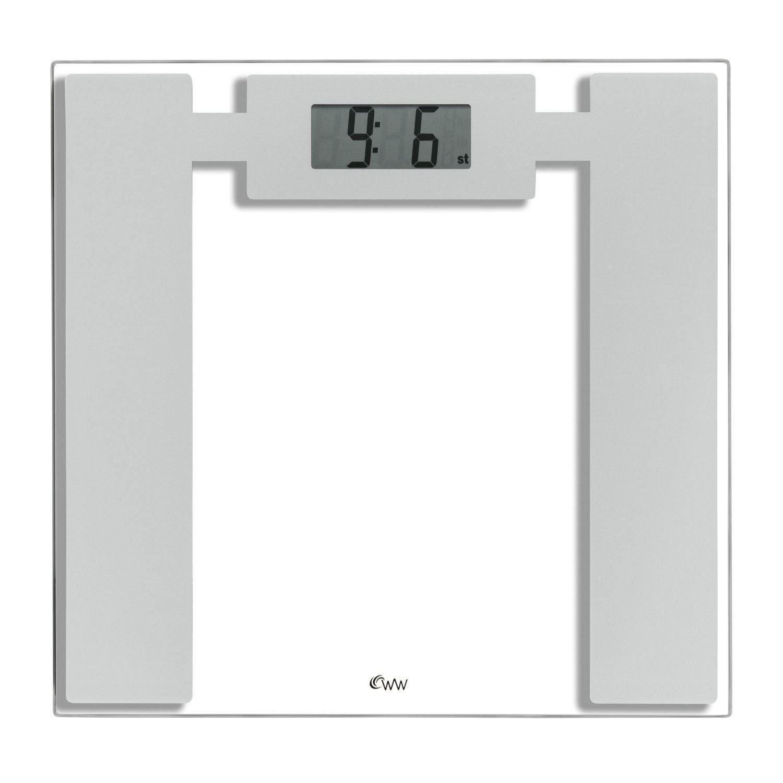 Weighing Scales Bathroom: Weight Watchers 8950U Glass Digital Electronic Bathroom