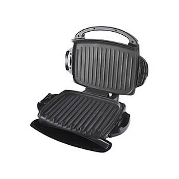 George foreman 14685 black 4 portion family non stick - Largest george foreman grill with removable plates ...