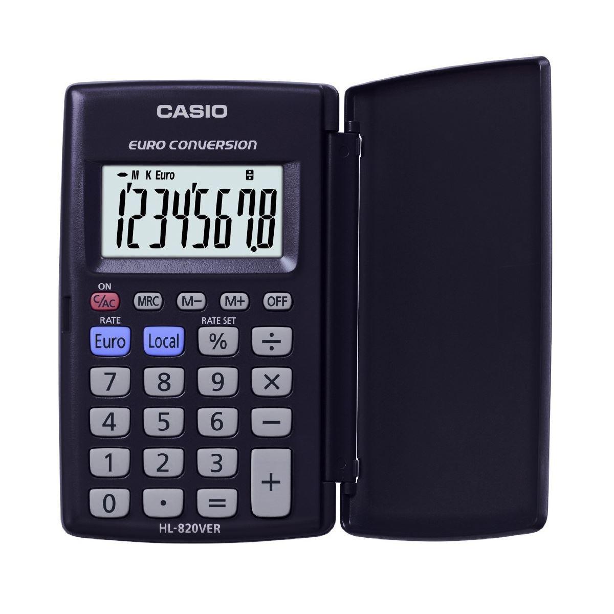 Wedding Gift Calculator Uk : Casio HL820VER 8-Digit Display Pocket Calculator With Euro Conversion ...