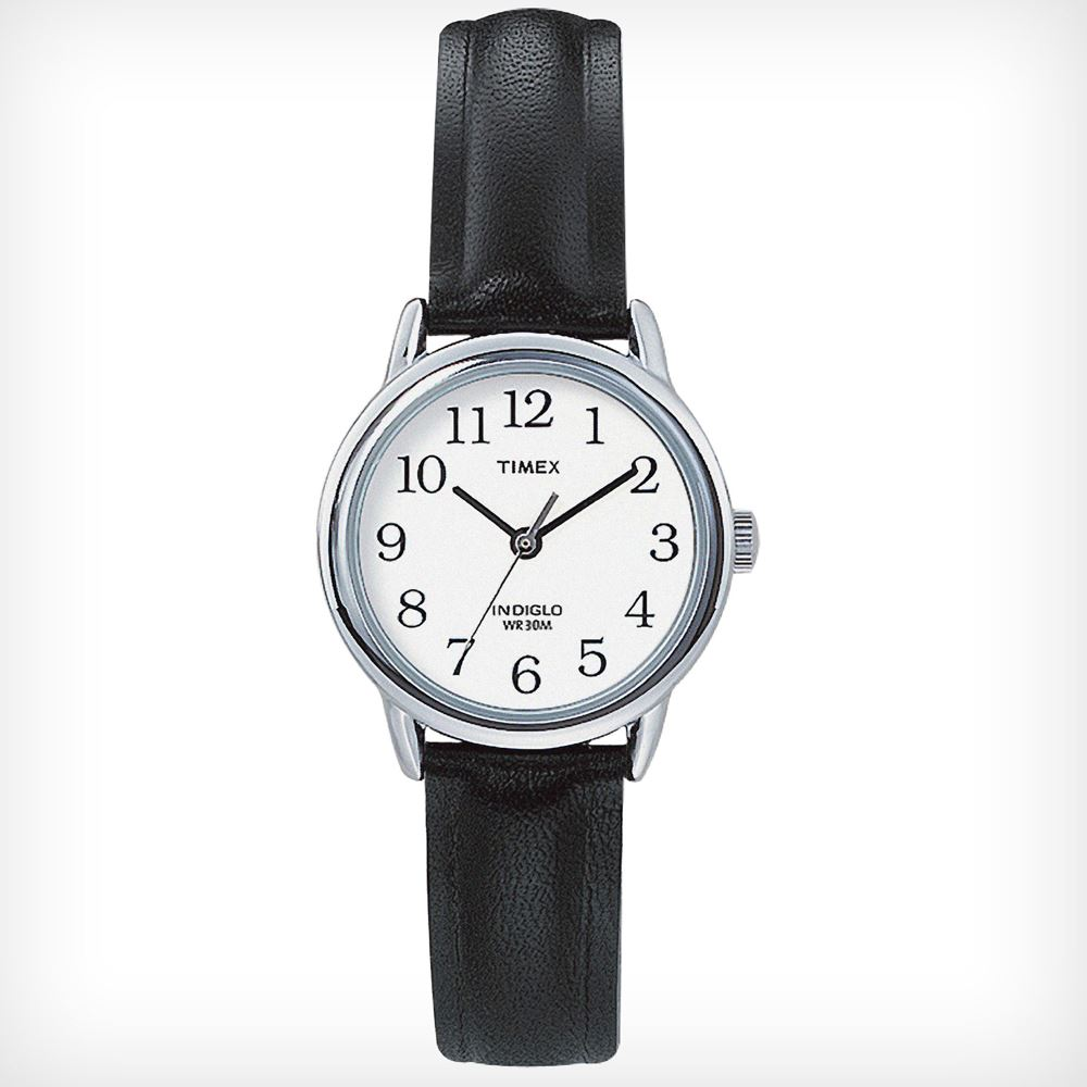 timex t20441 water resistant womens easy reader leather