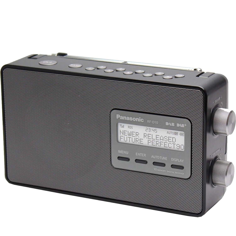 panasonic rf d10eb k dab dab compact radio with 10 memory. Black Bedroom Furniture Sets. Home Design Ideas