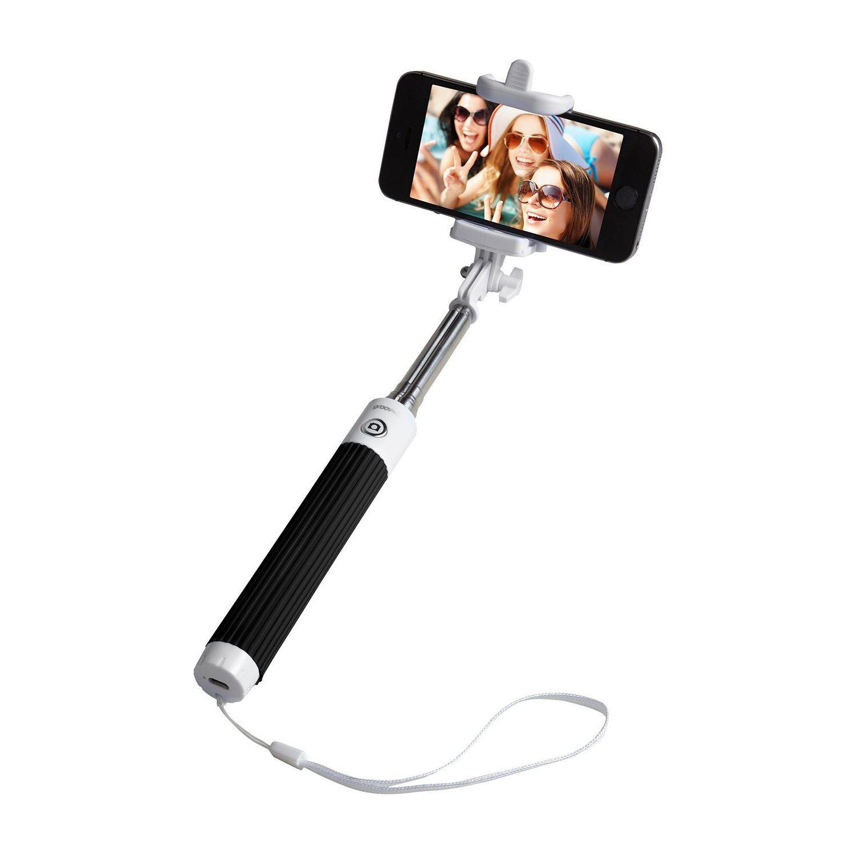 groov e bluetooth wireless rechargeable monopod selfie stick phone holder new ebay. Black Bedroom Furniture Sets. Home Design Ideas