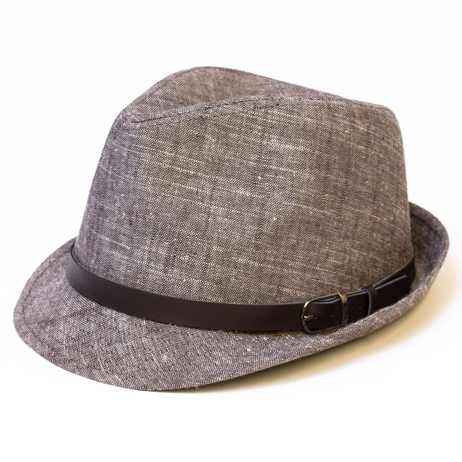 Herren Damen Trilby Hut Fedora Hut Filzhut Mütze