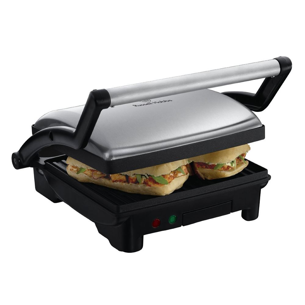 Russell hobbs 17888 panini 3 in 1 griglia e piastra for Piastra tostapane